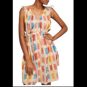 Anthropologie Lilka Painter's Palette Dress, L